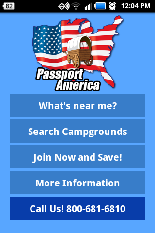 Passport America- screenshot