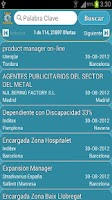 Screenshot of Empleos de InfoJobs &RSS