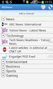 iRSSNews--RSS News Reader