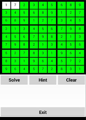 Suduko Solving App