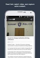Screenshot of KXII News