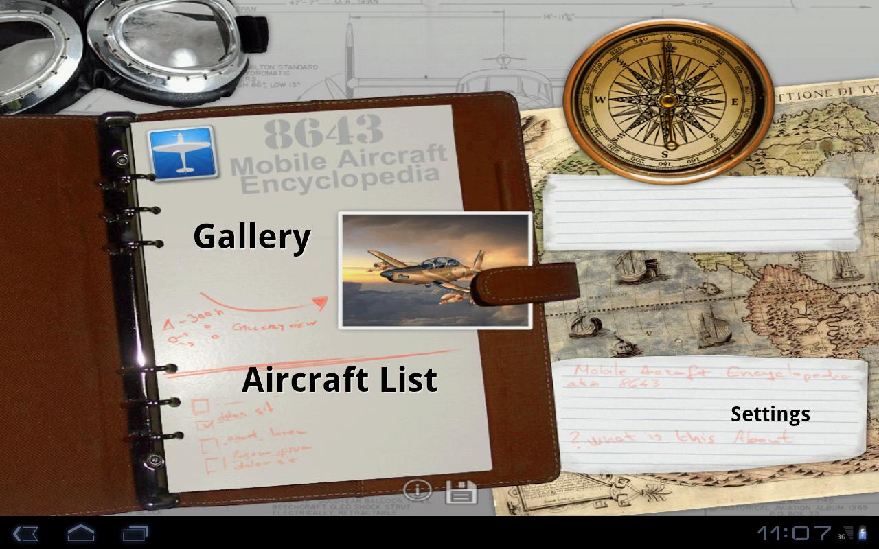 Mobile Aircraft Encyclopedia- screenshot