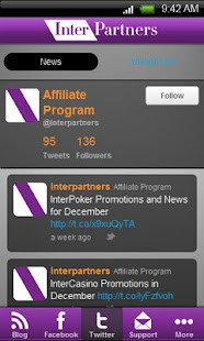 InterPartners News- screenshot thumbnail