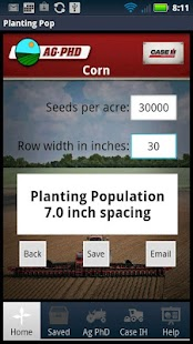 Planting Population Calculator- screenshot thumbnail
