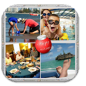 Holidays Photo Collage Maker