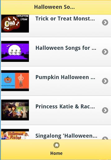 Halloween Kids Songs