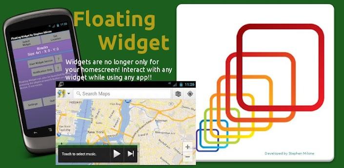 Floating Widget apk