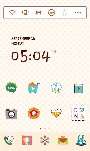 Redmon Cute Simple ドドルランチャーテーマ