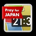 Instaqlock # prayforjapan logo