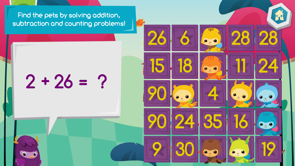 Moose Math by Duck Duck Moose - screenshot