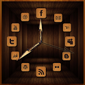 Wooden Analog Clock icon