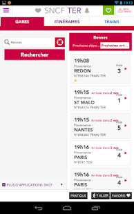 SNCF TER Mobile- screenshot thumbnail