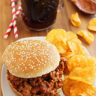Root Beer Turkey Sloppy Joes