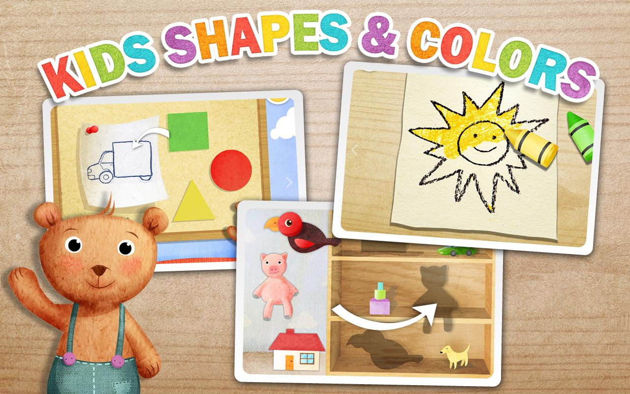 Kids Shapes & Colors Preschool - screenshot