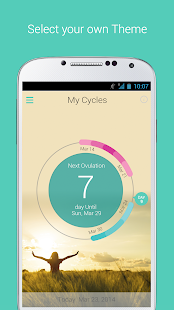 My Cycles Period and Ovulation - screenshot thumbnail