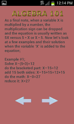 Algebra 102 APK screenshot thumbnail 10