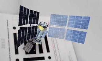 Screenshot of AR satellite