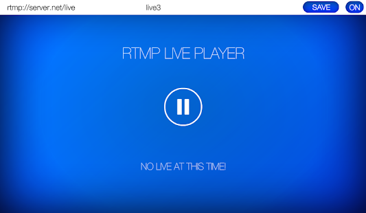 RTMP LIVE Stream Player- screenshot thumbnail