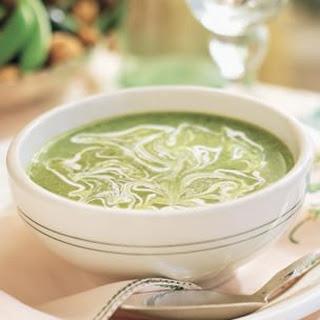 Poblano Chile Soup (Sopa de Chile Poblano)