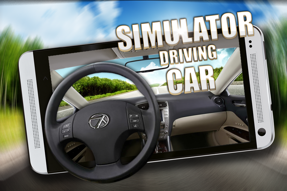 Simulator driving car- screenshot
