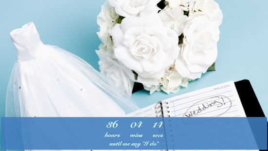 Wedding Countdown Widget - screenshot thumbnail