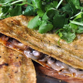 Smoky Black Bean Quesadilla Recipe