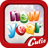 New Year theme TextCutie