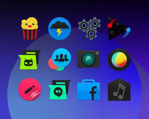 BLACKMoon - Icon Pack