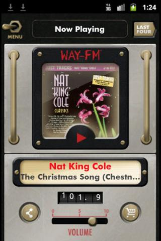 WAY-FM - screenshot