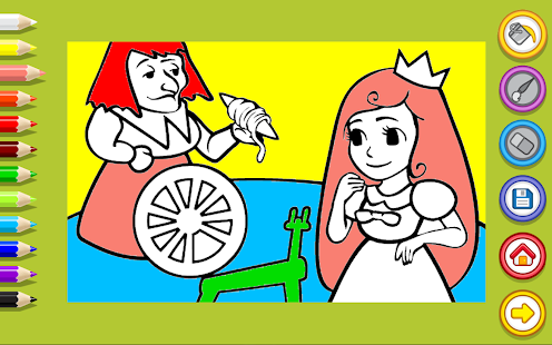 Girls Coloring- screenshot thumbnail