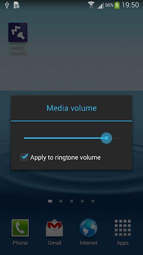 Simple set Media volume