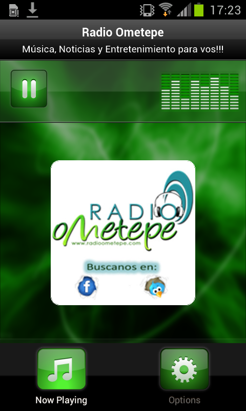 Radio Ometepe- screenshot