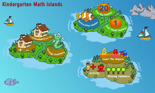 Kindergarten Math Islands
