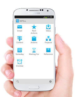 IQTELL Email app and GTD® Screenshot 1