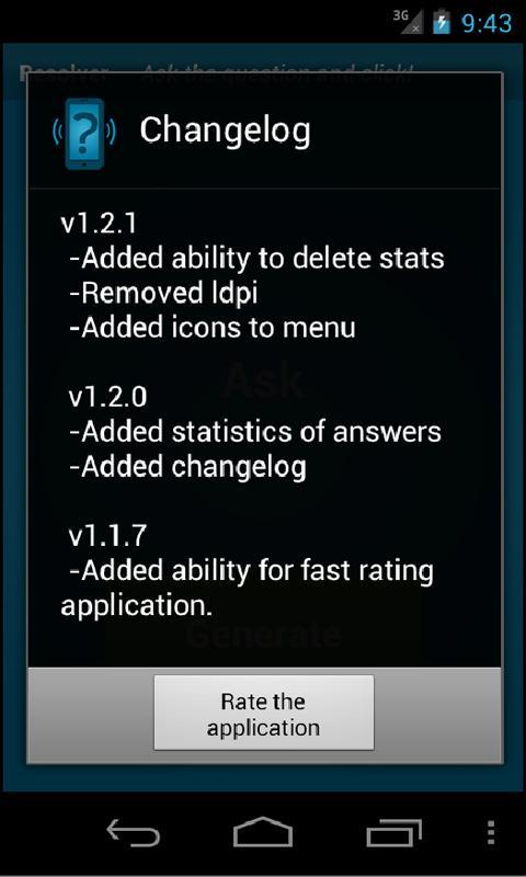 Resolver- screenshot