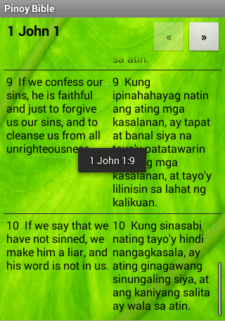 Pinoy Tagalog Bible - screenshot