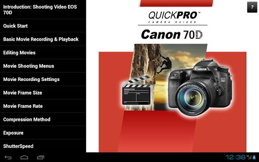 免費下載攝影APP|Guide to Canon 70D SV app開箱文|APP開箱王