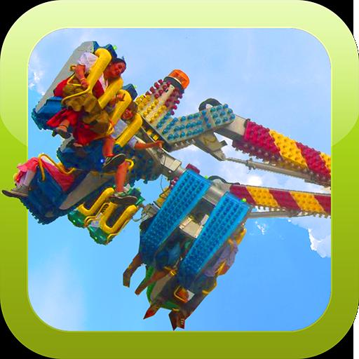 Funfair Ride Simulator: Techno