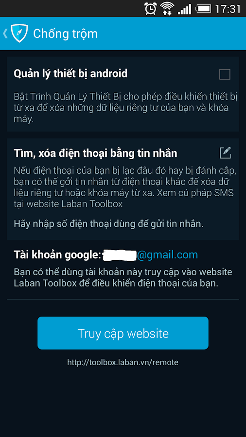 Laban Toolbox: optimize tools- screenshot