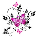 Exclusive butterfly 480×800 logo