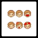メール素材 – 男の子(表情) logo