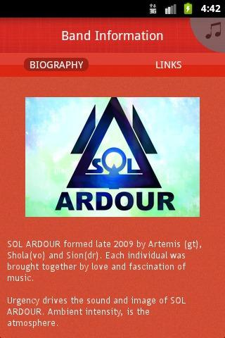 SOL ARDOUR - screenshot