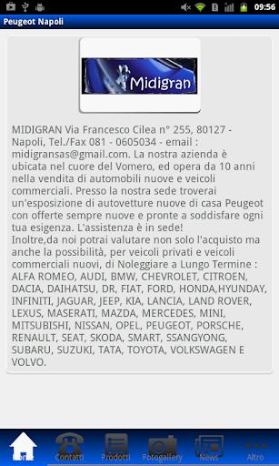 Peugeot Napoli