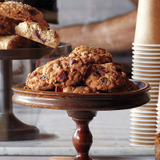 Bacon, Oatmeal, and Raisin Cookies