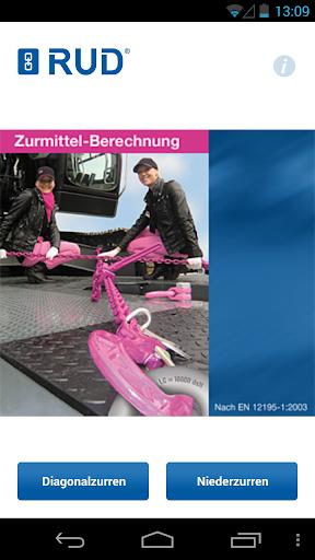 RUD Zurrmittel-Berechnung