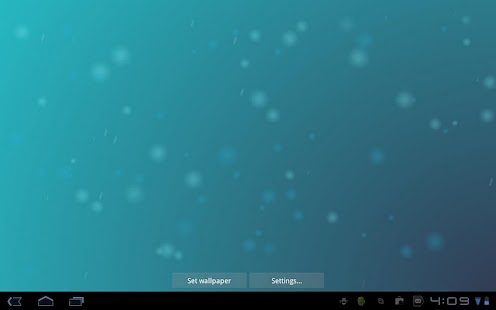 ICS Live Wallpaper - screenshot thumbnail
