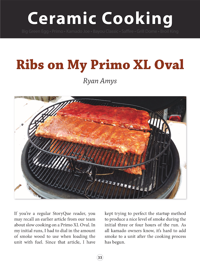 StoryQue: Barbecue Magazine- screenshot