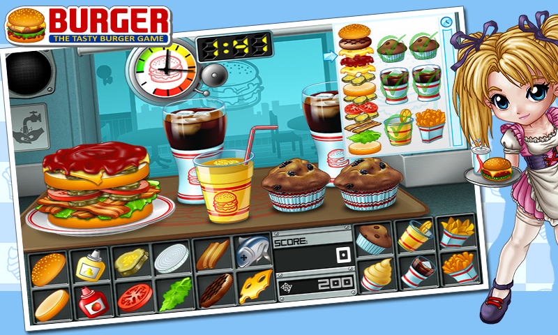 Burger - screenshot