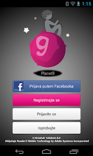 Planet 9 Aplikacija - screenshot thumbnail
