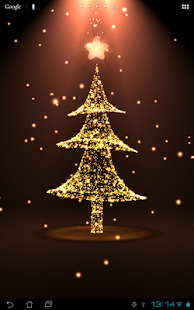 Christmas live wallpaper tree